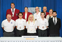 2016 SkillsUSA Telecommunications and Cabling Competition Winners