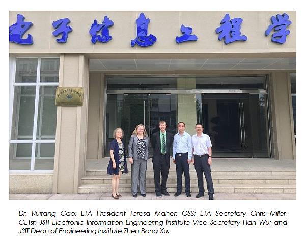 ETA China Visit